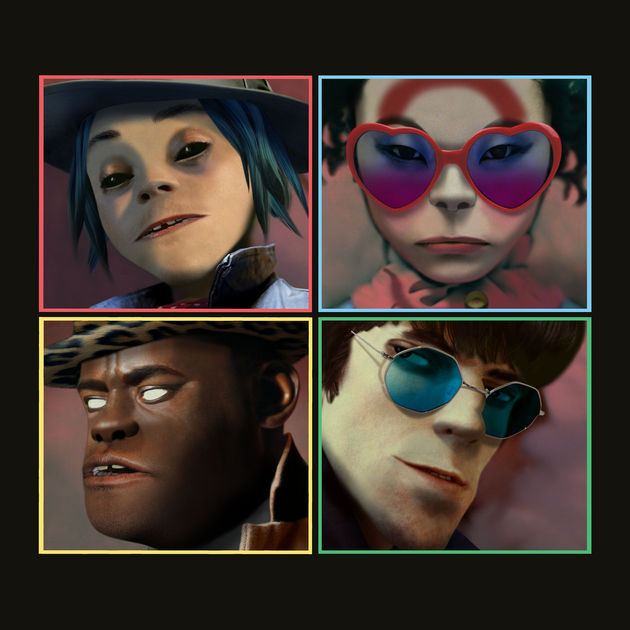"Gorillaz: ""Charger (feat. Grace Jones)"""